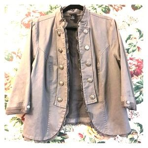 Torrid Military Jacket Size 2